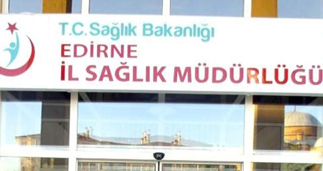 Edirne İl Sağlık Müdürlüğü'ne ait büfe kiraya verilecektir