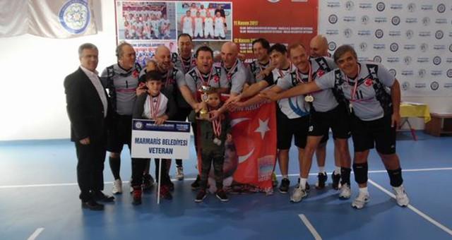 Milas Belediye Veteranları Muğla İkincisi