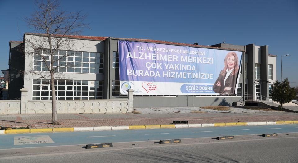 Merkezefendi Belediyesinden Şehre İlk Alzheimer Merkezi