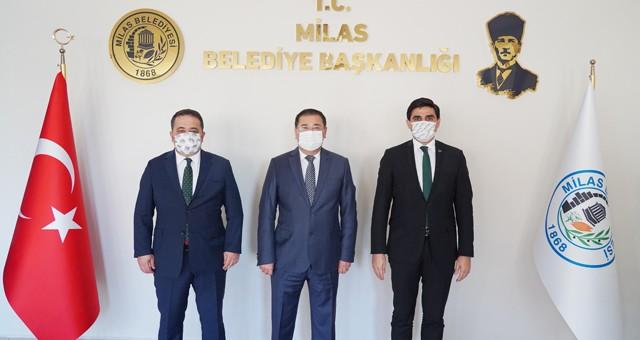 İBB'den Başkan Tokat'a ziyaret..
