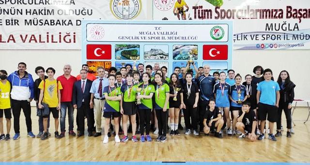 Menteşe Spor Salonu, masa tenisi il birinciliği turnuvasına ev sahipliği yaptı