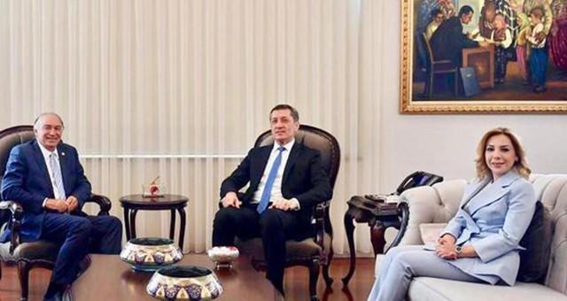 Milletvekili Demir ve Gökcan'dan Milli Eğitim Bakanına ziyaret