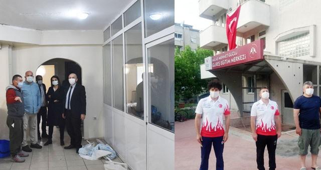 Milas Mehmet Güçlü Güreş Eğitim Merkezi yenileniyor