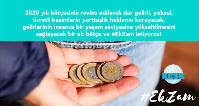 KESK, TÜİK enflasyon rakamları sonrası  imza kampanyası başlattı