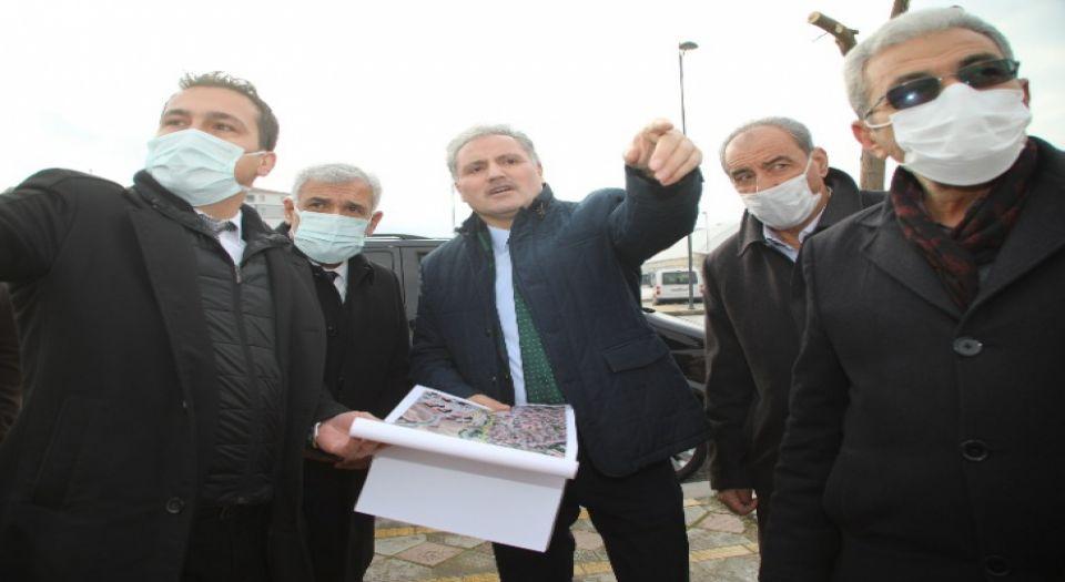 Malatya'da Battalgazi Belediyesi Çevre Yolu Altına El Attı