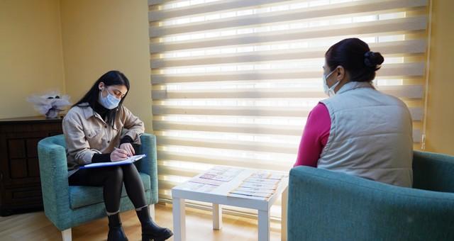 Kadın Danışma Merkezi'nde onlarca kadına destek sağlanıyor