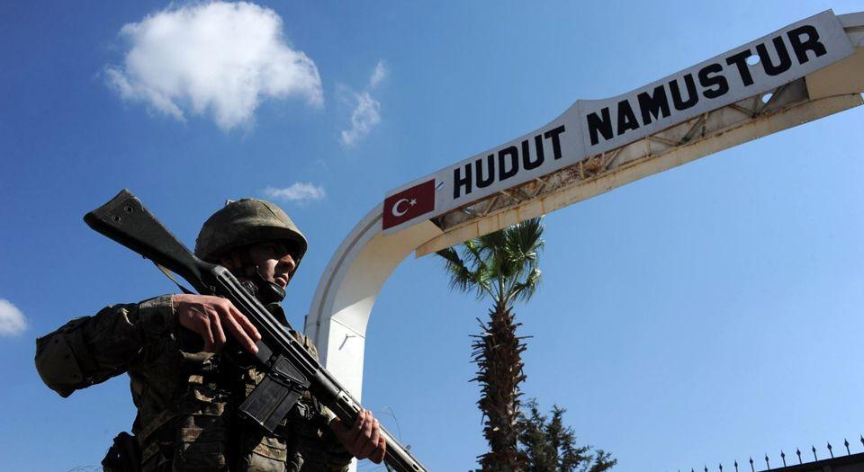 Mavi Bültenli Terörist Reyhanlı Hudutunda Yakalandı
