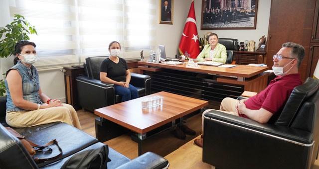 Milaslı kadın girişimcilerden Başkan Tokat'a ziyaret