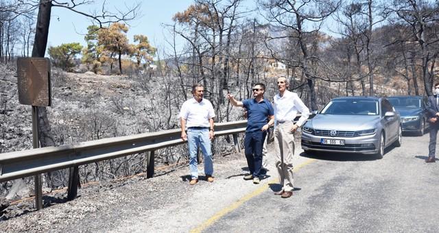 Tepebaşı Belediyesi'nden Milas'a 'Geçmiş Olsun' ziyareti