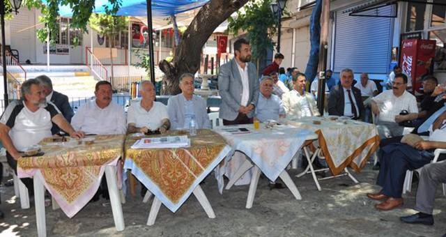 CHP'de geleneksel bayramlaşma…