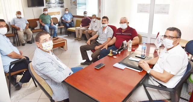 Başkan Tokat'tan muhtarlara ziyaret