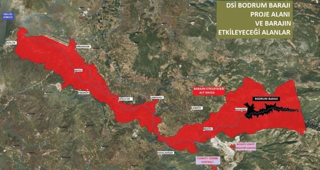 Sulama için değil, Bodrum'a su için bir baraj daha!..