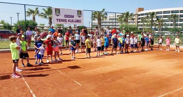 Tenis kampı sona erdi