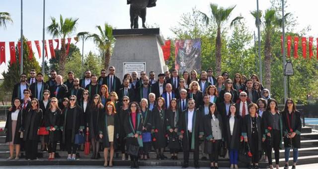 5 Nisan Avukatlar Günü'nde 'savunma' hakkına vurgu yapıldı