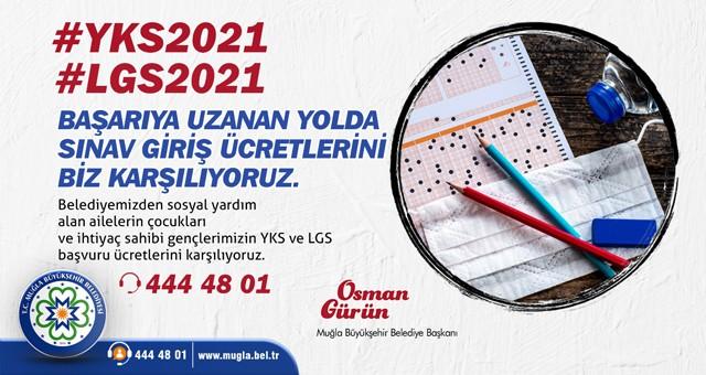 Sınav giriş ücretleri Büyükşehir'den