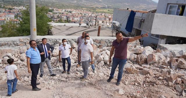 İsmet Paşa Mahallesi'nde yoğun çalışmalar gerçekleştiriliyor