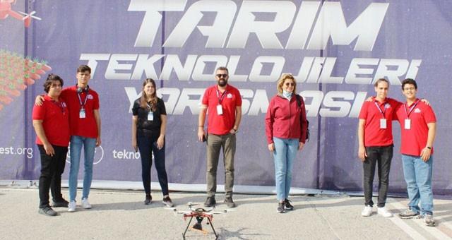Özge'li öğrenciler Teknofest finallerinde