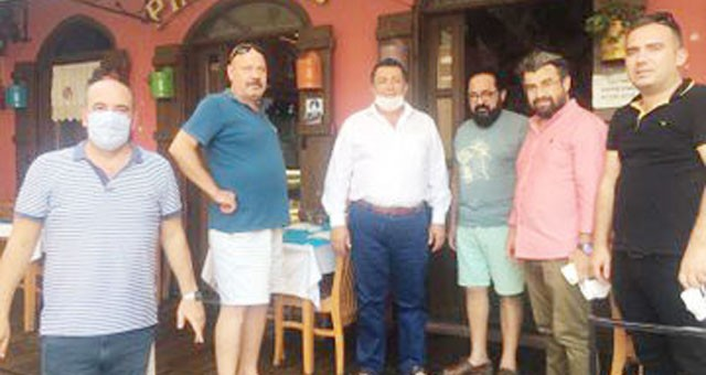 Mürsel Alban'dan Milas Esnafı'na ziyaret
