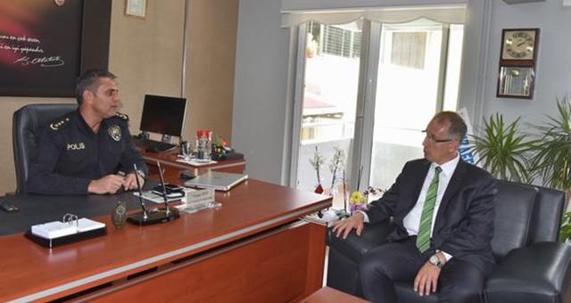 Başkan Vekili Yazar'dan Emniyete Ziyaret