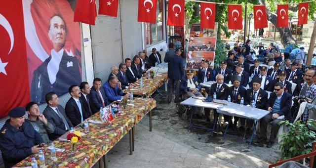 Gaziler, genel kurul için toplandı