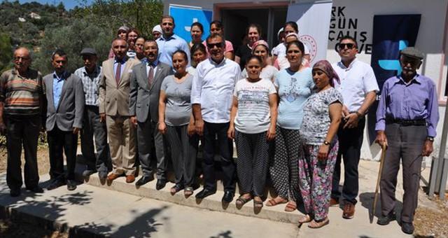 MİTSO-İŞKUR-HALK EĞİTİM'DEN ÖRNEK PROJE..  Projenin ikinci ayağı Balcılar'da start aldı…