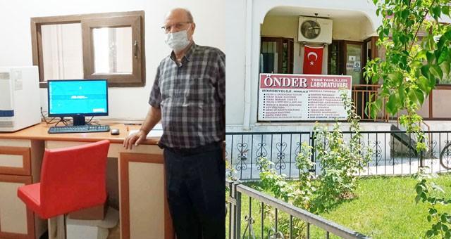 Milas'ta özel bir laboratuvar Koronavirüs testi yapmaya başladı
