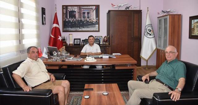 Başkan Tokat ziyaretleri kabul etti