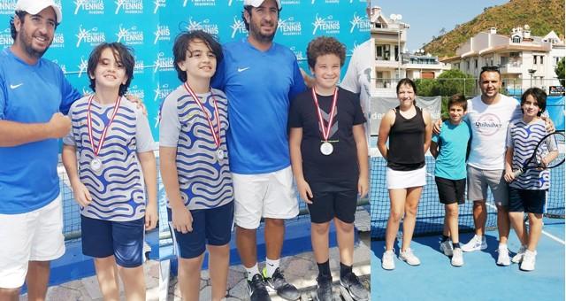 Tenis'te Milas'ın başarıları sürüyor