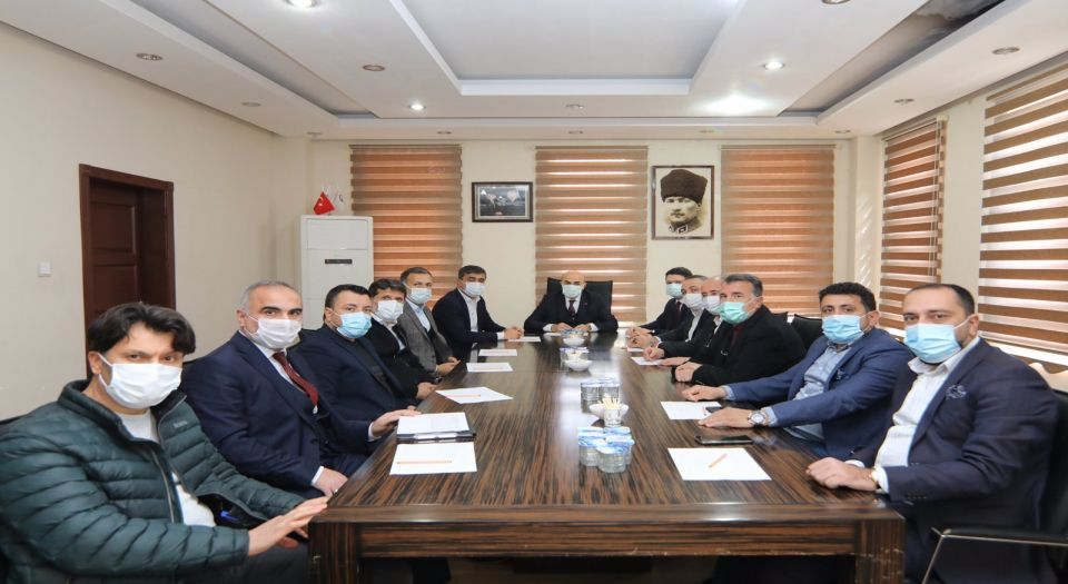 Mardin'de Osb Müteşebbis Heyeti Toplandı