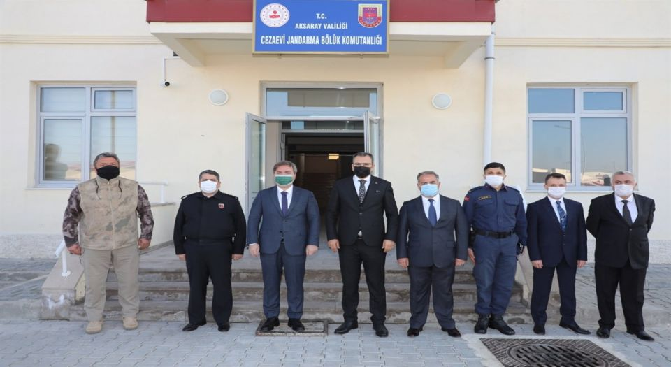 Aksaray'da Mehmetçiklere Moral Ziyareti