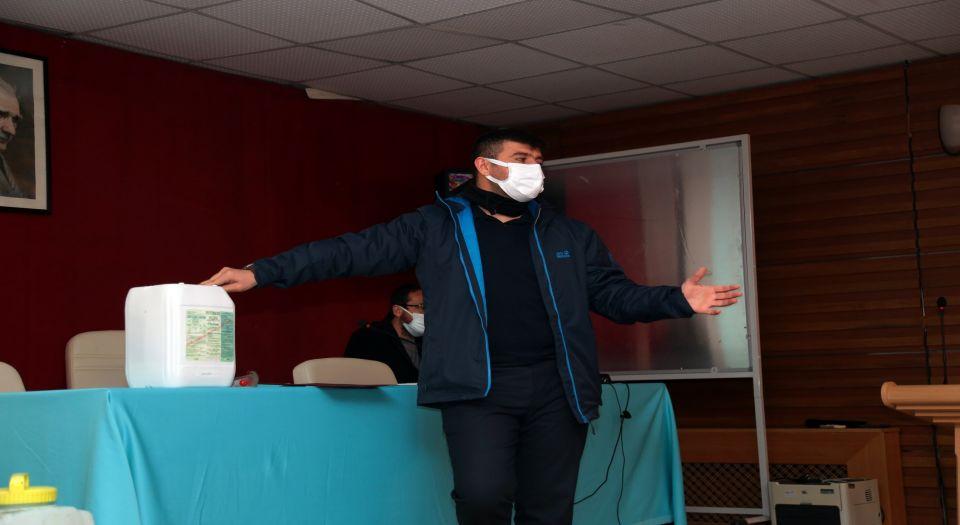 Aksaray'da Biyosidal Ürün Eğitim Semineri