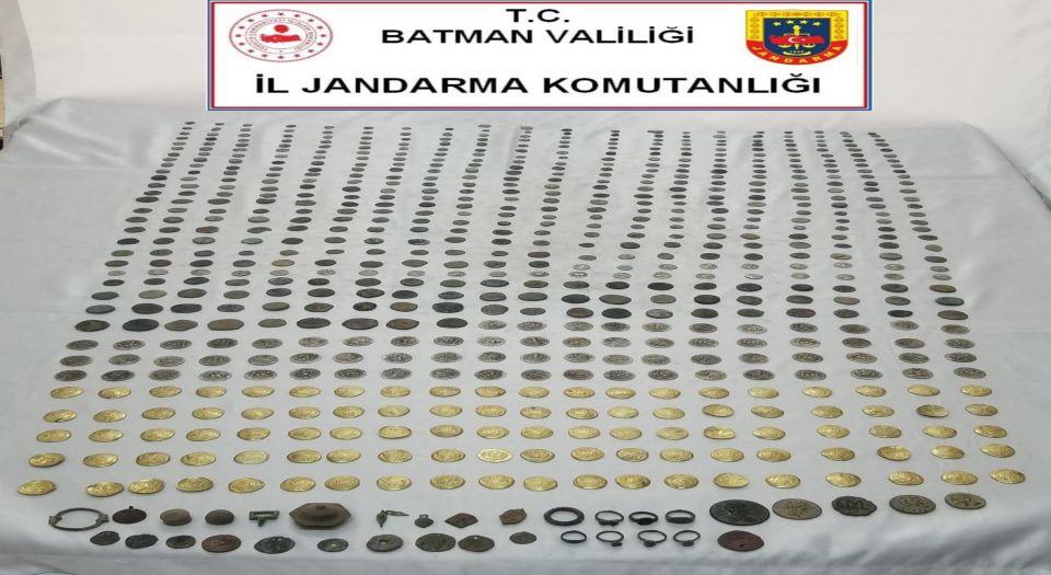 Batman'da Tarihi Eser Kaçakçılarına Baskın
