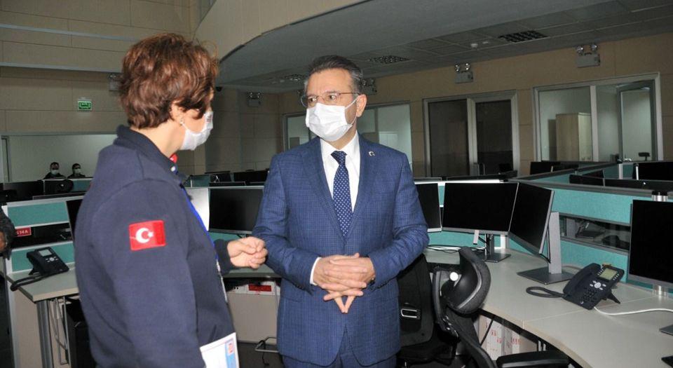 Aydın'da 112 Acil Çağrı Merkezi 24 Şubat'a Hazır