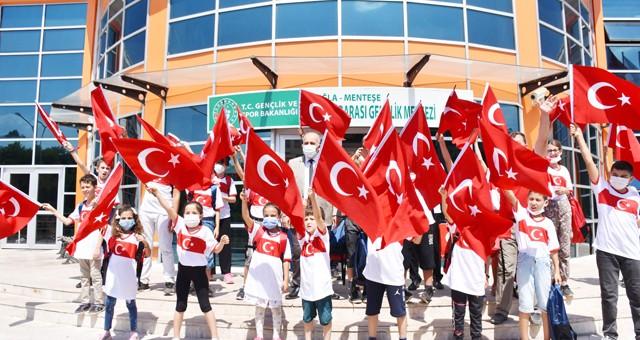 30 Ağustos Zafer Bayramı Muğla'da spor etkinlikleri ile kutlandı