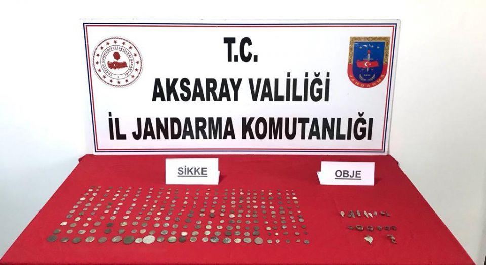 Aksaray'da Define Avcılarına Jandarma Operasyonu