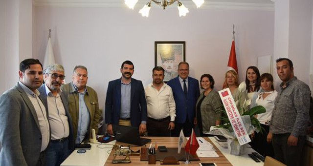 İyi Parti ve CHP'den Hayırlı Olsun Ziyareti