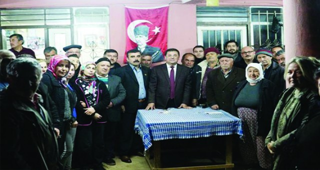 Başkan Tokat Korucuk ve Tuzabat mahallerini ziyaret etti.