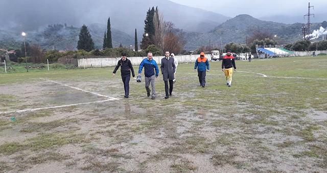 Futbol Maçlarına Yağmur Engeli