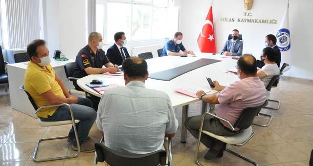 Yükseköğretim kurumları sınav güvenlik toplantısı yapıldı