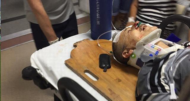 Halilbey Bulvarı'nda kaza…