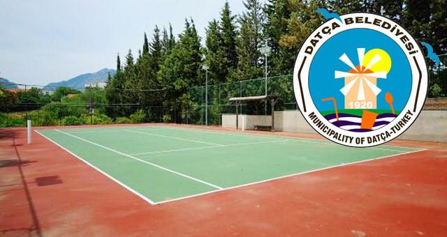 Datça'da Tenis kortu kiraya verilecektir