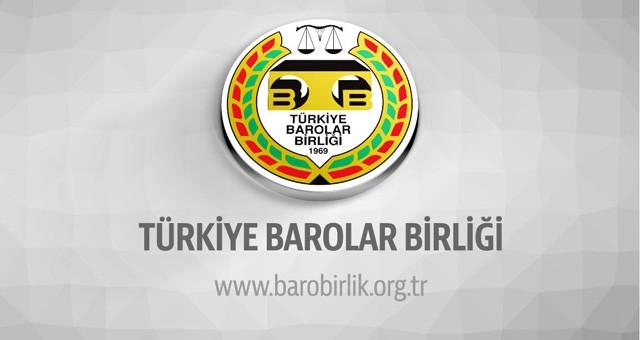 Baro Başkanları toplantısı sonuç bildirgesi