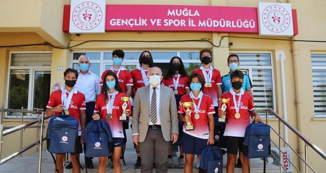 Muğla Gençlik ve Spor Kulübü Türkiye şampiyonu oldu