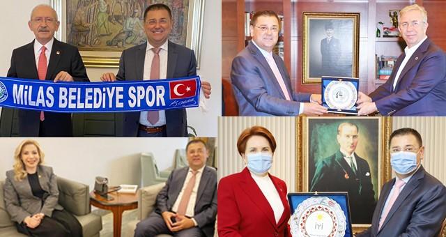 Başkan Tokat'tan yoğun Ankara mesaisi