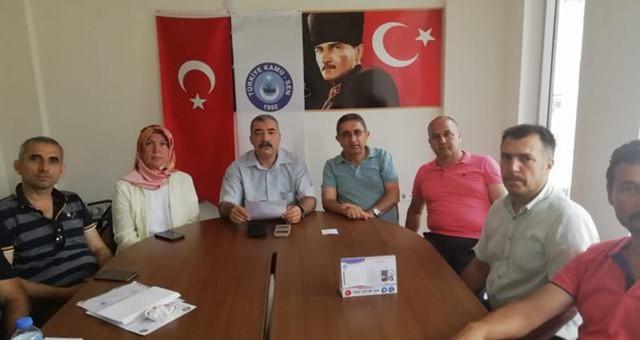 Türk Eğitim-Sen'den Fethiye'de 'Mobbing' Açıklaması