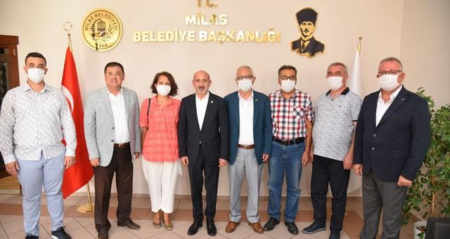 CHP Genel Başkan YardımcısıBaşkan Tokat'ı ziyaret etti