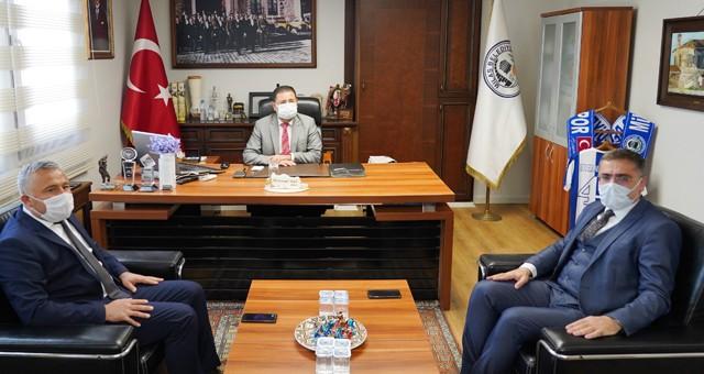 Yatağan ve Kavaklıdere belediye başkanlarından ziyaret