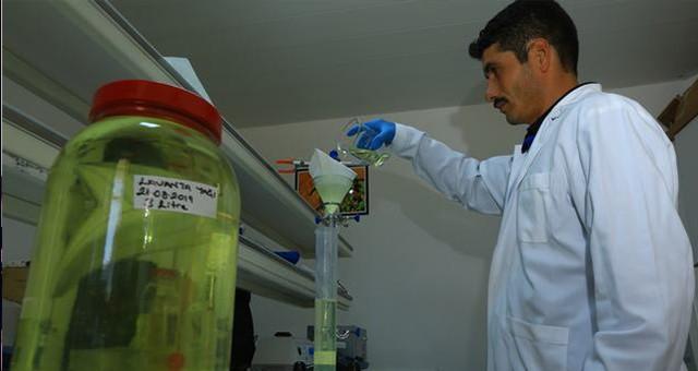Büyükşehir'den Tıbbi-Aromatik bitki üreticilerine Distilasyon hizmeti