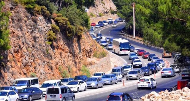 Muğla'da toplam araç sayısı 515 bin 231'e ulaştı..