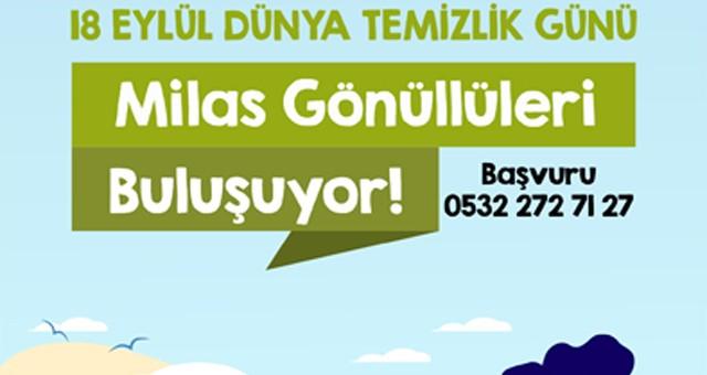 Çevre gönüllülerinden 18 Eylül için çağrı